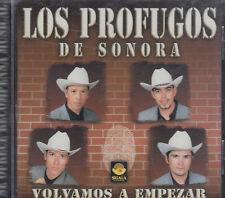 Los Profugos De Sonora Volvamos A Empezar New Nuevo sealed