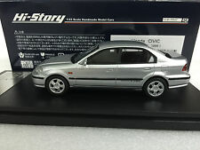 1:43 HI STORY HS143SL HONDA CIVIC Ferio Si II sedan scale model car type R SiR