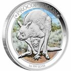2013 $1 Australian Megafauna Procoptodon Silver Proof 1oz coin - Perth Mint