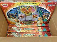 🔥 Lot of 4! Pokemon TCG Kanto Power Boxes Dragonite EX XY Evolutions Sealed 🔥