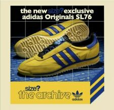 BNWT Adidas Originals Mens SL 76 Yellow Blue Size Exclusive - Size 12 UK