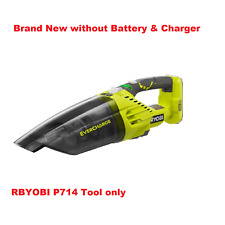 Ryobi P714 18V 18-Volt ONE+ EVERCHARGE Hand Vacuum, Quieter than P713, Tool Only