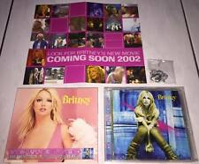 Britney Spears 2001 Self-Titled Album Taiwan LTD Box CD Promo Bracelet & Poster