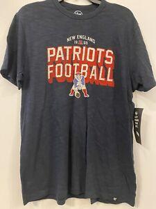 New England Patriots 47 Brand Men's Old Logo t-shirt NWT Size Medium