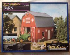 POLA LGB Building-Kit~Red Miller Barn~1812~Unbuilt Kit~G Scale~Farm~Trains~FAST