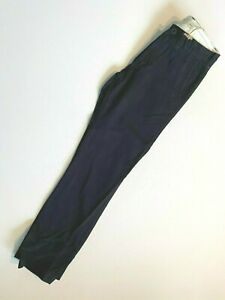 Vans New Authentic Chino Black Khaki Pants Youth Boys 26/12