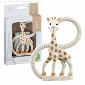 SOPHIE THE GIRAFFE TEETHER RING -Famous Toy By Vulli 100% Genuine *FREE DELIVERY