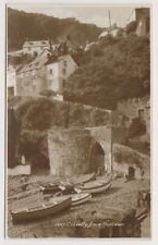 Devon postcard - Clovelly from Harbour - (A1172)