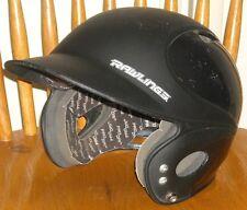 New listing RAWLINGS VAPOR Black Baseball Softball Batting Helmet EUC VLP1 6-1/2 to 7-1/2