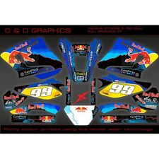 Yamaha DT125RE DT125X Full DT125 Graphics Sticker Kit - NEW!!