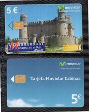 Tarjetas Telefoncas Movistar para coleccionismo (DE-422)