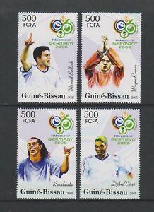 Guinea Bissau - 2005, FIFA World Cup Fußball Set - MNH