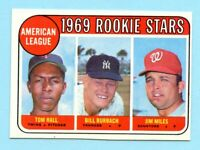 1969 Topps # 658A American League Rookie Stars  ( NM-MT)