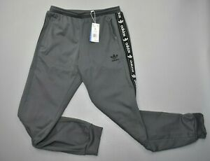 NEW Adidas Men's On Edge Jogger Grey Size Large GQ6038 Logo Drawstring $80.00