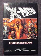 2008 X-MEN LEGACY Divided He Stands 1st Printing HC/DJ NM/VF Carey & Eaton