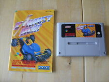 GENUINE SUPER NINTENDO GAME - SNES - EXHAUST HEAT - CARTRIDGE & MANUAL