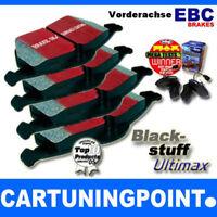 EBC Forros de Freno Delantero Blackstuff para VW Caddy 3 2KB DP1329