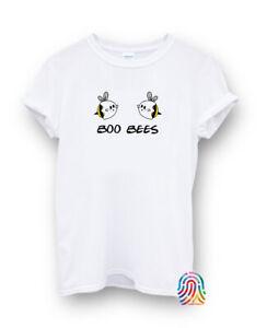 Boo Bees Let It Be Ghost Funny Bee Halloween T-shirt Vest Top Men Women Unisex