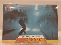 2020-21 Upper Deck Erik Karlsson UD Canvas