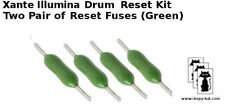 Drum imaging (4) reset chips fuses for  Xante Ilumina Digital Press 407 500 502