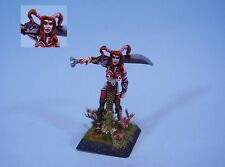 Confrontation painted miniature Barbarian Female