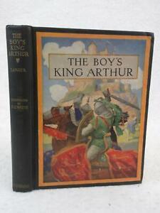 Malory THE BOY'S KING ARTHUR Edited for Boys by Sidney Lanier 1939 Scribner's