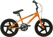 "Indi Shockwave Orange Black 16"" Mag Wheels BMX Stunt Bike Rare Free Delivery"