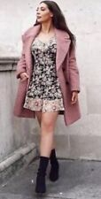 Topshop Iconic True Romance Frill Ruffle Floral Vtg Celeb Summer Tea Dress 6 XS