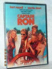 Captain Ron (DVD, 2004) NEW DISNEY Kurt Russell Martin Short Mary Kay Place