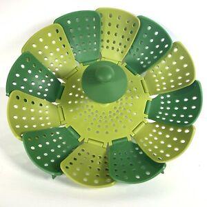 Joseph Joseph Lotus Steamer Green Lime Collapsible