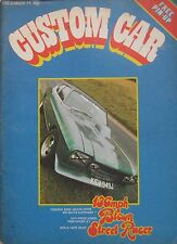 Custom Car magazine 12/1971 featuring Vauxhall Firenza, Clan Crusader, Mercedes