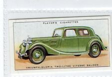 #46 Triumph-Gloria Two-Litre Vitesse Saloon  - Motor Car R Card