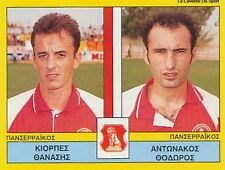 N°453 PLAYERS PANSERRAIKOS FC GREECE PANINI GREEK LEAGUE FOOT 95 STICKER 1995