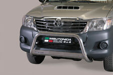 "Toyota Hilux  2011-2016 Ø63mm BULL BAR NUDGE BAR ""CE APPROVED"" Frontbügel"
