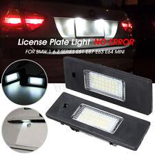 2X LED TARGA LUCE PER BMW 1 6 Z SERIE E81 E87 E63 E64 Z4 MINI COOPER 63267165735