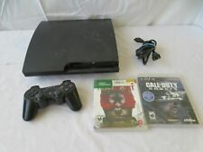 Sony PlayStation 3 Slim (CECH-3001A 160 GB) with Call of Duty Ghosts & Homefront