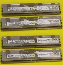 DELL SNPM788DCK2/16G 32GB 4x 8GB PC2-5300F DDR2 667 M395T1G60QJ4-CE6 8xAvail