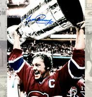 Yvan Cournoyer Montreal Canadiens Autographed 8x10