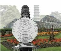 Celebrating 50 Years Of The 50p 2019 BUC Coin NEW Kew Gardens. In HAND