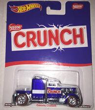 Hot Wheels 2016 Pop Culture Nestle Crunch Convoy Custom REAL RIDERS