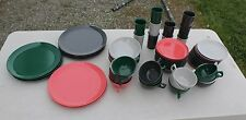 * 67 piece Branchell Royale Melmac Dinnerware Color Flyte