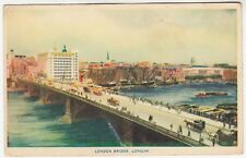 "LONDON BRIDGE - ""Through The Camera"" Series - c1920s era postcard"