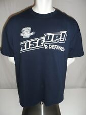 CLEVELAND CAVALIERS Used 2008 Rise Up! & Defend! Playoffs SGA Screen T-Shirt XL