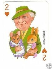 Beatrix Potter -  Famous Women Playing Card  Have a Look! Writer