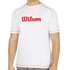 Tee-Shirt WILSON NEUF blanc taille XL NEUF sous blister avec étiquettes