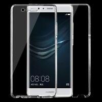 Double-Sided Tasche Schutzhülle Case 360° TPU Komplett Schutz Hülle für Huawei