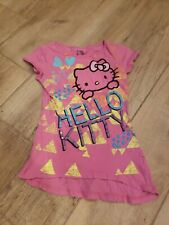 HELLO KITTY Tee TOP T-shirt GIRLS Sz M