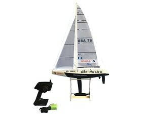 """33"""" RC Remote Control 2.4G Sailboat 380 Motor - BMW Oracle"""