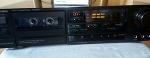Piastra di registrazione a cassette Technics RS-B505 con cassette vergini omaggi