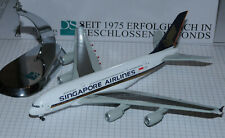 DRAGON WINGS 1/400 Airbus A380 SINGAPORE AIRLINES incl. Chrome Stand